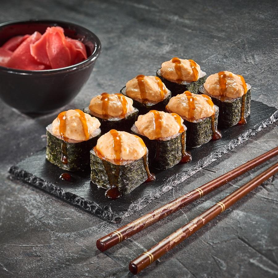 Запеченные суши картинки